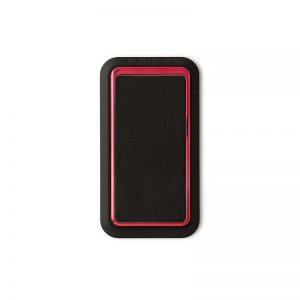 Handl stick Smooth leather -Black:RED