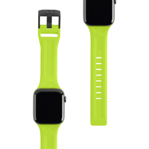 UAG Apple Watch 44mm/42mm Silicone Scout Strap (Billie Neon Green)
