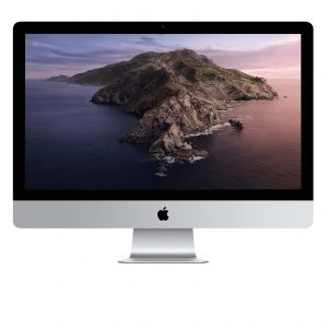 27-inch iMac 5K 3.1GHz 6-core 10th i5 8GB 256GB SSD Radeon Pro 5300 4GB