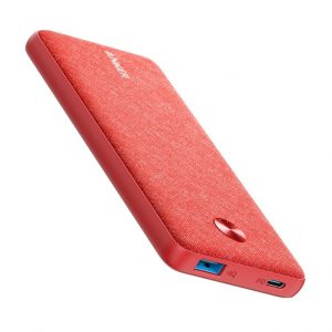 Anker PowerCore Metro Essential 20000 PD -Pink Fabric